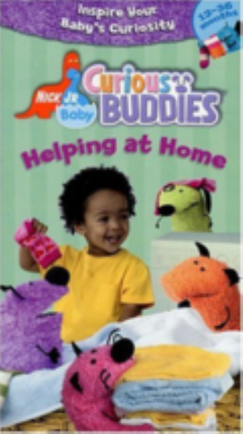Nick Jr. Baby Curious Buddies - Helping at Home Vhs