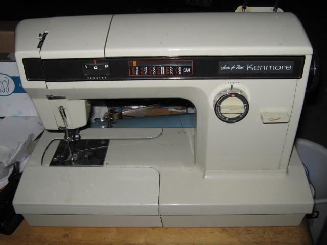 kenmore sewing machine tension