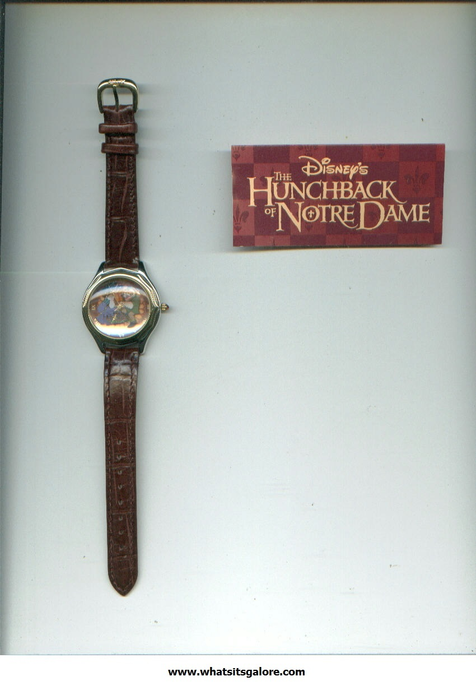 Walt Disney HUNCHBACK OF NOTRE DAME watch Quasimodo + EXCLUSIVE LITHOGRAPH