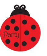 25-Count Party Invitations, Ladybug Fancy - $8.16