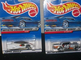 HOT WHEELS ARTISTIC LICENSE SERIES SET-4-NEW IN PACKAGE - $20.00