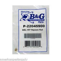 B&G Seat Stem Locknut  Part SSL-157 B&G Part # 22045900 B&G Sprayer Part - $9.99