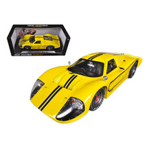 1967 Ford GT MK IV Yellow 1/18 Diecast Car Model by Shelby Collectibles ... - $72.99