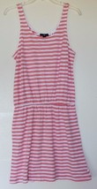 Gap NWT Women's S M XXL Coral Striped Cotton Modal Slub Texture Tank Dre... - $41.03