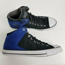 Converse CTAS Highstreet HI Shoes Sneakers Black Blue White 152602F Mens... - $42.03