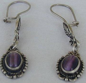 Dangling purple a