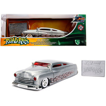 1951 Mercury Raw Metal with Flames Road Rats Jada 20th Anniversary 1/24 Diecast  - $41.87