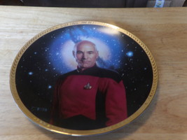 "TNG Plate Collection ""Captain Jean-Luc Picard"" Hamilton - $25.00"
