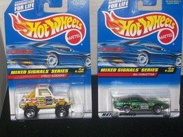 Hot Wheels Mixed Signals Series Set Of 4 - $18.00