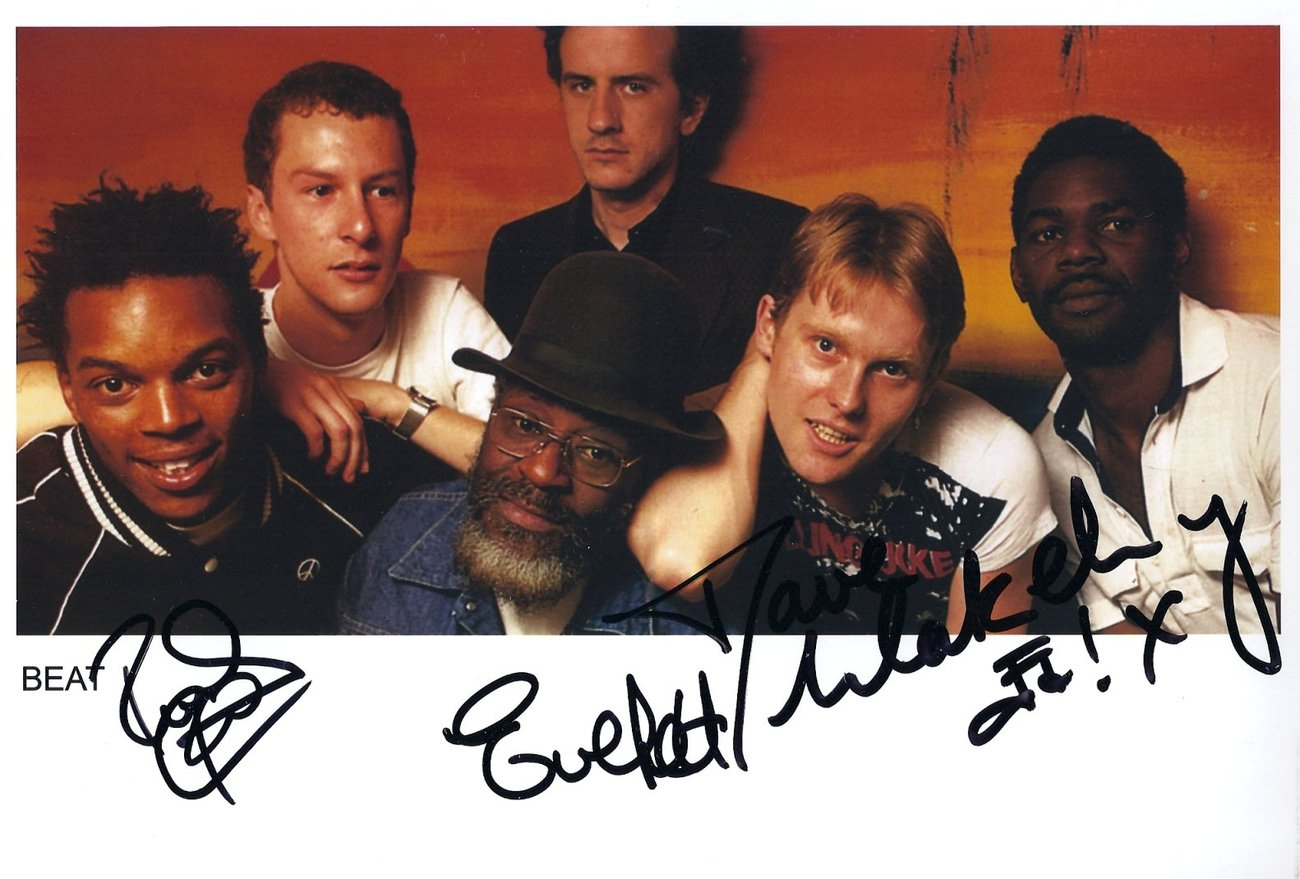 Primary image for The Beat Specials Ska 2-Tone FULLY SIGNED Photo COA 100% Gen