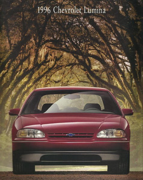 1996 Chevrolet LUMINA sales brochure catalog 96 LS Chevy