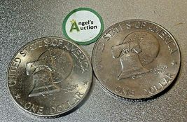 Eisenhower  Dollar 1976 P and 1976 D AA20D-CND8001 image 7