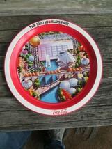 Coca-Cola Commemorative 1982 World's Fair Round Serving Tray  - UNIQUE ITEM - $8.42