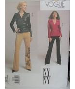 Vogue Sewing Pattern 2679 Shirt & Pants Sizes 8-12 Uncut - $5.69