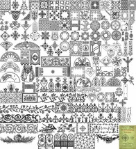 1899 Victorian Ecclesiastical Embroidery Book Pattern Fan Making Pattern... - $12.99