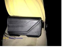 Nite Ize Black Executive Genuine Leather Horizontal Heavy Duty X-large C... - $24.70