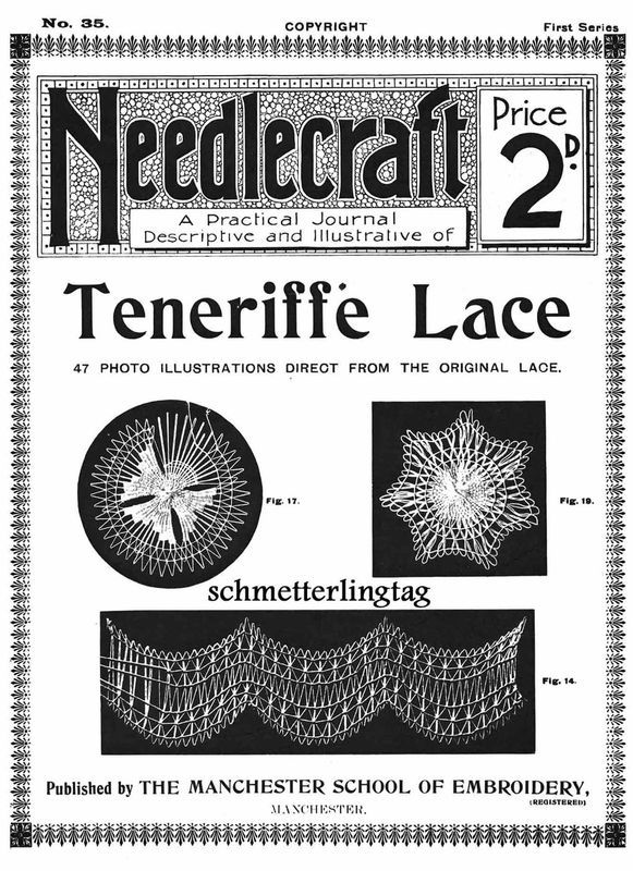 Primary image for 1909 Teneriffe Sol Lace Book Gibson Girl Era Needlework Brazilian Mexican Laces