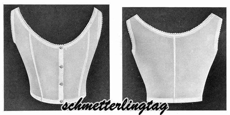 1920 UNDERGARMENT Book Instructions Patterns Lingerie Bras Corset Pantie Chemise