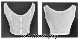 1920 UNDERGARMENT Book Instructions Patterns Lingerie Bras Corset Pantie... - $12.99