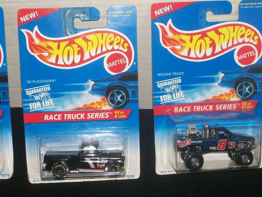 HOT WHEELS RACE TRUCK SERIES SET OF 4