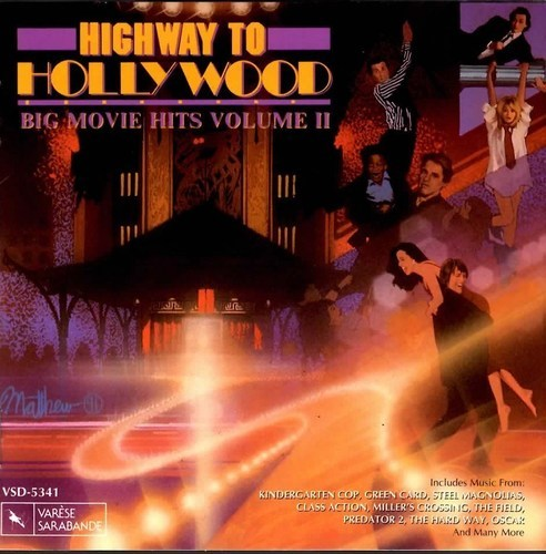 HIGHWAY TO HOLLYWOOD VOL II SOUNDTRACK  CD  RARE