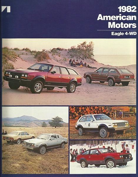 1982 AMC EAGLE 4WD SX/4 KAMMBACK sales brochure catalog US 82 American Motors