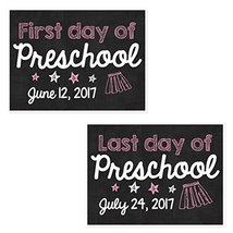 First and Last Day of School Chalkboard Sign Posters - Set of 2 - $21.29