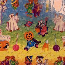 VINTAGE LISA FRANK Halloween Hip Hop Panda Bear Mint Complete Sticker Sheet S317 image 4