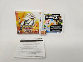 Pokemon Sun (Nintendo 3DS, 2016) Authentic! COMPLETE, TESTED CIB - $17.62