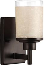 Progress Lighting Alexa 1-Light 4.5-in Antique Bronze Cylinder Vanity Light - €52,19 EUR