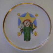 Berta Hummel Miniature Plate, Angel and Star - $12.00