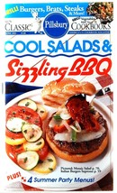 Pillsbury Cookbook Cool Salads & Sizzling BBQ #148 1993 Recipes Cookout - $3.00