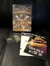 Wario World Warioworld Nintendo GameCube, 2003 Black Label With Extras N... - $31.34