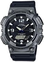 Casio AQ-S810W-1A4 Men's Tough Solar Black Sport Resin Band Watch w/BOX - $38.63