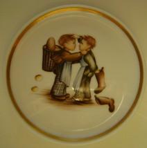 Berta Hummel Miniature Plate, Boys, Boots and Bread - $12.00