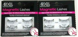 Lot of 2 Ardell Professional Magentic Lashes Double 110 - $11.99