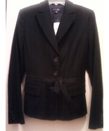 Banana Republic Wool Blend Blazer Jacket Black ... - $99.00