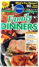Pillsbury Cookbook Family Dinners #152 October 1993 Recipes - $3.00
