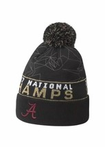 Nike Alabama Crimson Tide 2017 NCAA Championship Pom Knit Beanie OSFM Ha... - $9.47