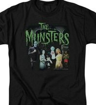 The Munster's family t-shirt 50 years retro 60's comedy graphic tee NBC895 image 3