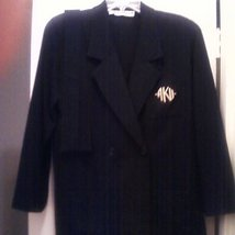 Anne Klein II Wool Blazer Jacket Size Medium - $29.00