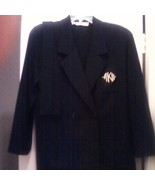 Anne Klein II Wool Blazer Jacket Size Medium - $13.00