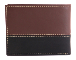 Timberland Men's Genuine Two Tone Leather Credit Card Billfold Commuter Wallet image 3