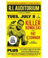 KILLER KOWALSKI VS PAT O'CONNOR 8X10 POSTER PHOTO WRESTLING PICTURE WWF - $4.94