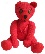 Handmade Teddy Bear Toy Doll - Ginger - Stuffed Animal - Handcrafted Gift - $39.00