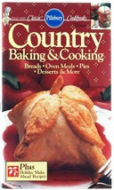 Pillsbury Cookbook Country Baking & Cooking #10... - $3.00