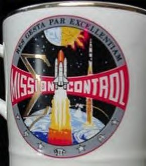 Old Nasa Challenger Space Shuttle Coffee Cup Mug