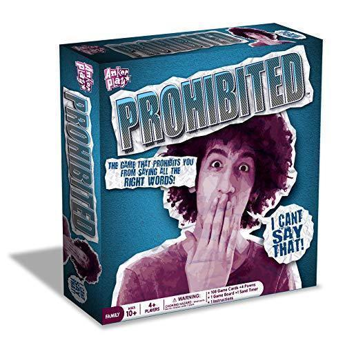 new I Can't Say That ! Anker Play PROHIBITED BOARD GAME family fun cards Age 10+ - $19.90
