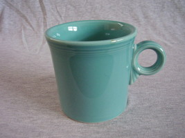 Fiestaware Contemporary Turquoise T & J Mug Fiesta - $12.00