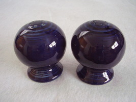 Fiestaware Contemporary Cobalt Salt Pepper Shakers Set - $19.99